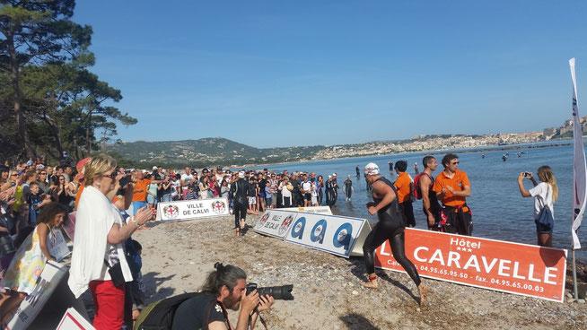 Triathlon en Corse