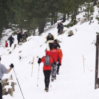 Rando montagne en hiver