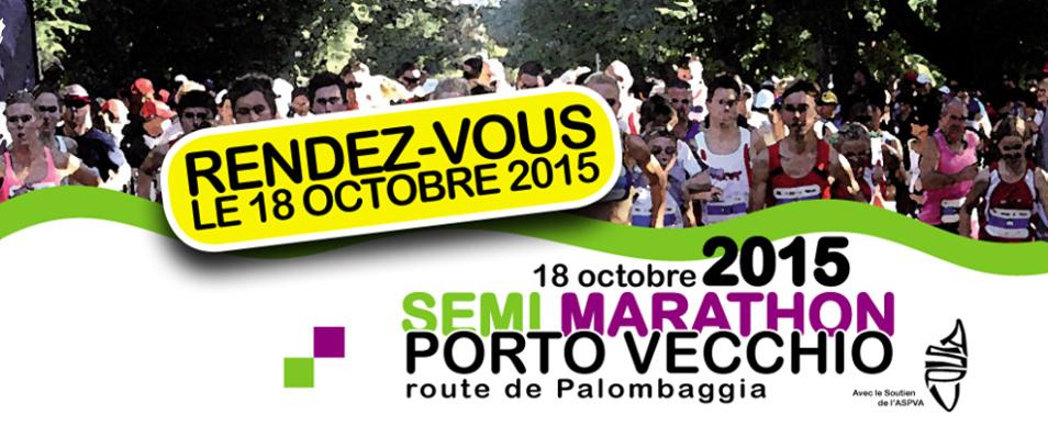 Le semi marathon de Porto Vecchio 2015