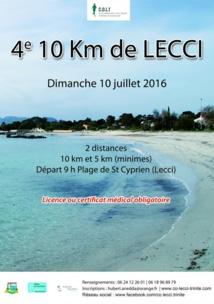10 km de Lecci
