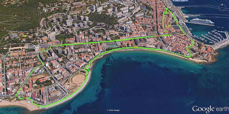 Nouveau city Trail à Ajaccio en Septembre