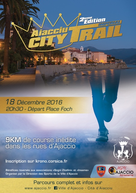 City Trail Ajaccio 2016