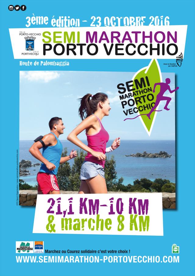 Semi Marathon de Porto Vecchio 2016