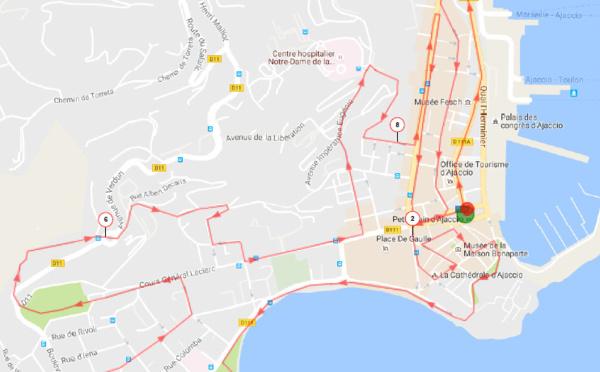 City trail d'Ajaccio, le retour